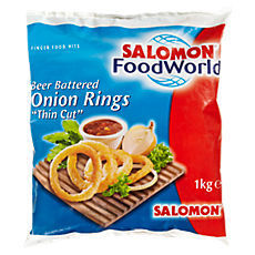 TK Onion Rings Zwiebelringe SALOMON gebacken 1000g