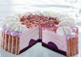 Tk Erdbeer Sahne Torte 2500g 28cm Scholler