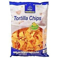 Tortilla Chips Cheese 750g