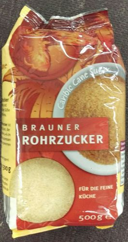 Rohrzucker braun Sweet Nature 500g