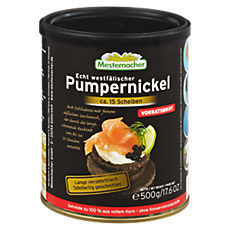 Mestemacher Pumpernickel 500 g Dose