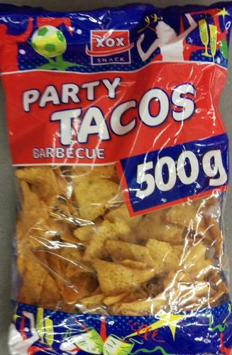 Tacos Tortilla Chips XOX Barbecue 500g
