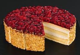 Tk Himbeer Kase Sahne Torte 200g 24cm Scholler