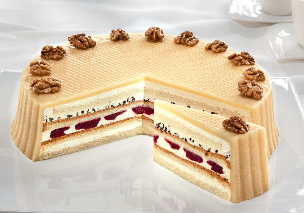 Tk Marzipan Creme Torte 28 Cm 1950g Pfalzgraf