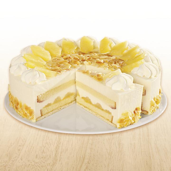 Tk Ananas Joghurt Torte Scholler 28cm 2300g