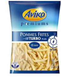 TK Turbo Fries 10mm AVIKO 2500g